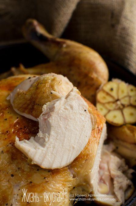 курица Хестон Блюменталь рецепт, запеченная курица Блюменталь рецепт, рецепт низкотемпературная курица