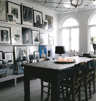 In the home of Malene Birger
