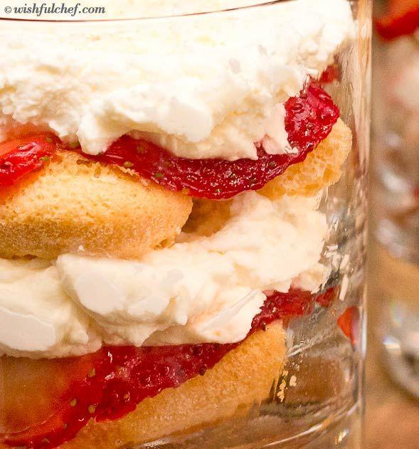 Strawberry Shortcake With Mascarpone Cream Recipe — Dishmaps