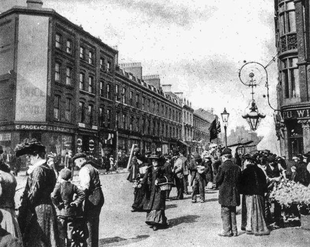 123-159 Bethnal Green Road, 1905