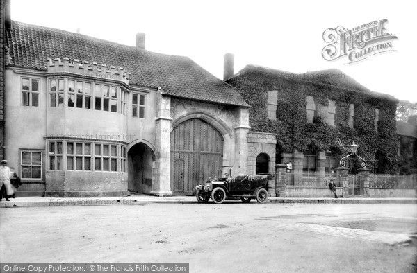 Glastonbury, The Abbey Gateway 1909, from Francis Frith