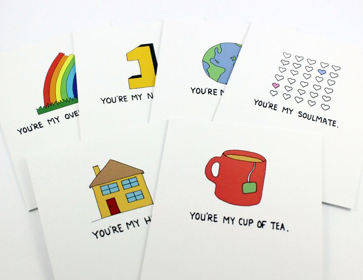 You're My ... Cards Post Love Designs