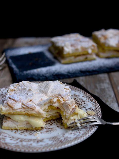 Pradobroty: Kvæfjordkake - verdens beste / Norský žloutkový dezert