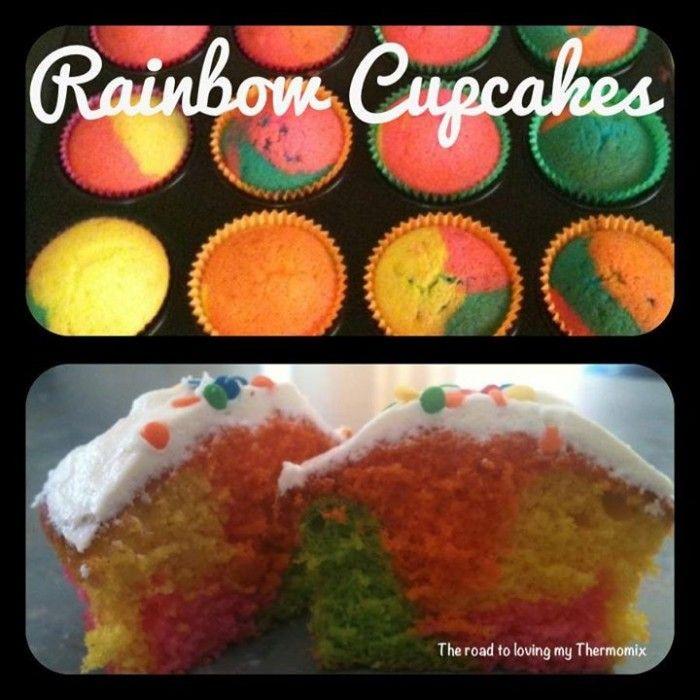 Rainbow Cupcakes trtlmt