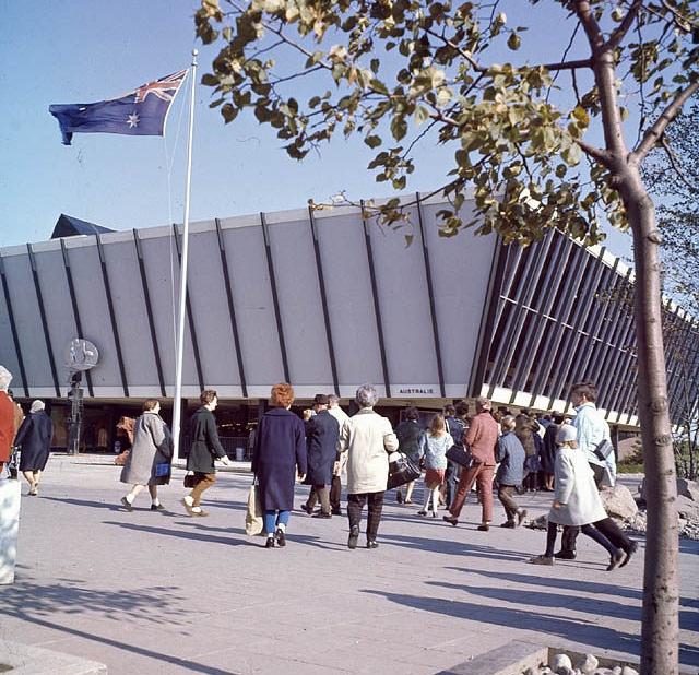 The Pavilion of Australia (Expo 67)