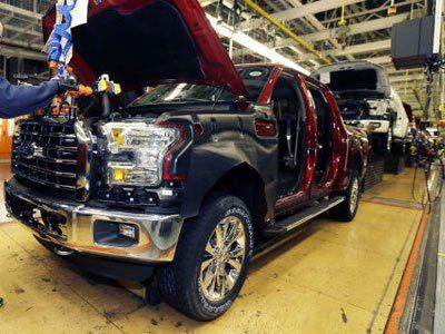 Ford keeps aluminum F-150 ready for the right moment