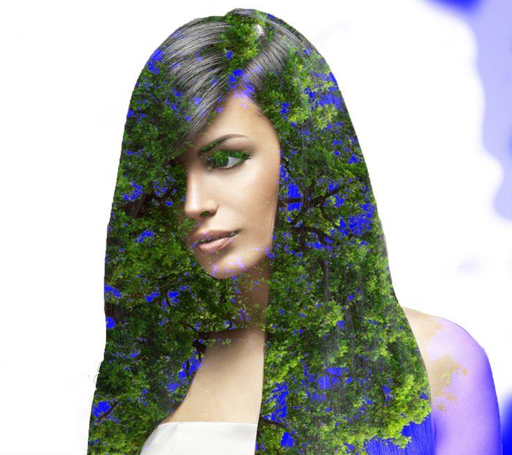 Brazilian women in Blue