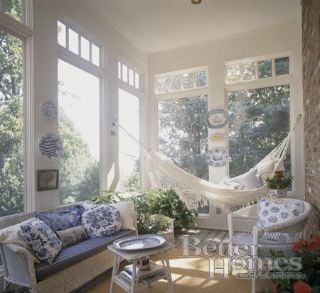 perfect place for a hammock all year round!!