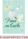 Peace On Earth Doves US Made Garden Flag