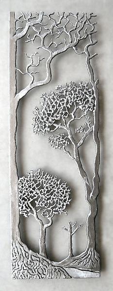 Provence: Bernard Collin: Metal Wall Sculpture | Artful Home