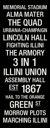 Illinois Fighting Illini Posters and Prints at Art.com