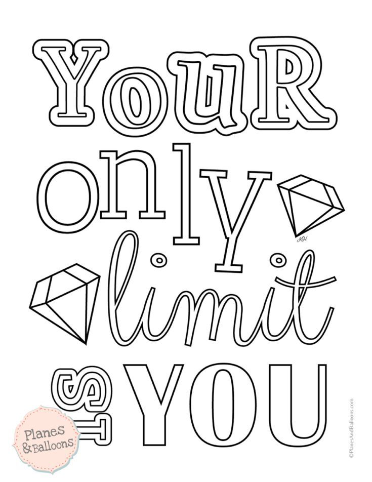 Motivational Coloring Pages To Help You Stay Focused On Your Dreams Quote Coloring Pages Inspirational Quotes Coloring Coloring Pages Inspirational