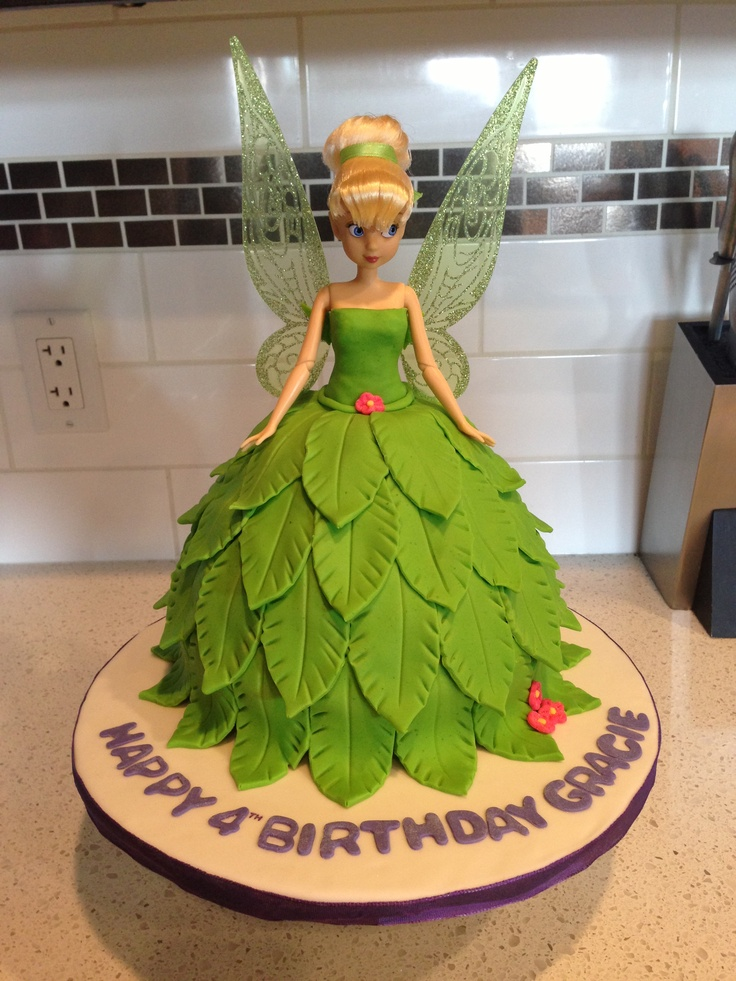 Tinkerbell Cake Cakes That I Like Pinterest