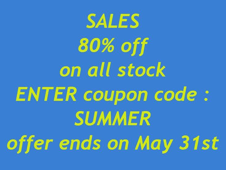 Για λίγες μέρες ΕΚΠΤΩΣΗ 80% σε όλο το στόκ.....εισάγετε το κουπόνι SUMMER. Ισχύει μέχρι 31 Μαϊου. www.mumusyros.gr