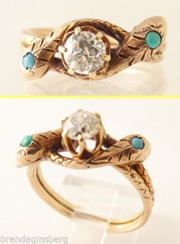 7 best wedding rings snake images on Pinterest