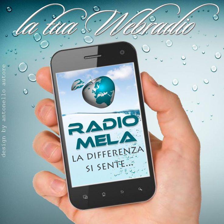 La Mia WebRadio? RadioMela ! #radiomela #webradio #8090lovers