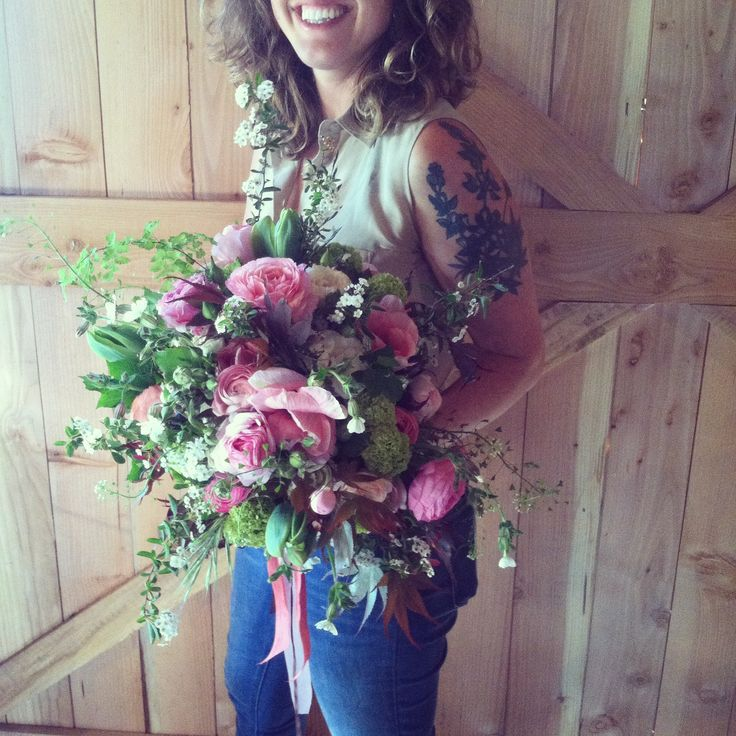 Pinky Bridal bouquet