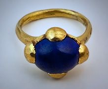 Byzantine gold ring 8th - 10 th century AD