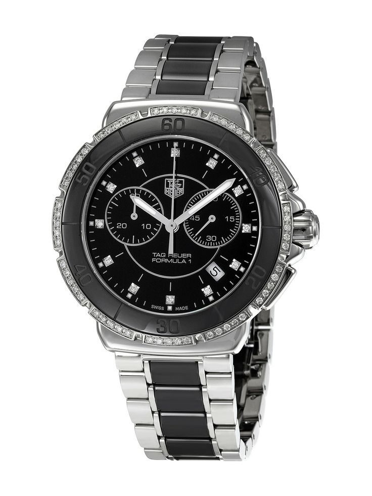 Tag Heuer Men's Carrera Automatic Fixed Stainless Steel Bezel Watch NZ$5,326.90 Gilt