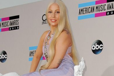 Lady Gaga American Music Awards Red Carpet