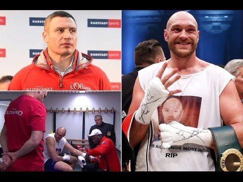 Tyson Fury reveals why Vitali Klitschko drew two LOVE HEARTS on his tape...