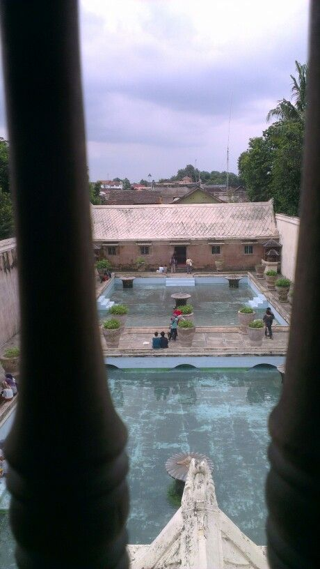 View of Hareem pools from sultans tower