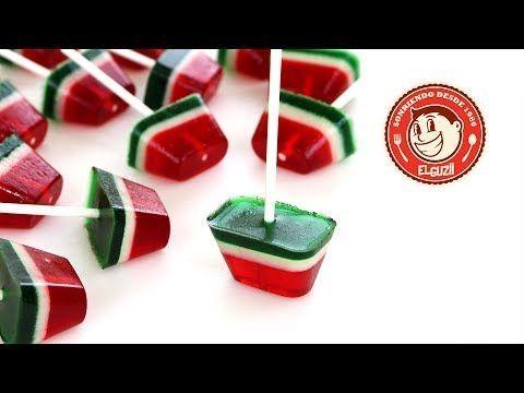 A todas las que tinene niños propios, y ajenos   Estan faciles de hacer y quedan deliciosas.   Amo las recetas de El Guzii.  Jelly Pops - El Guzii (+lista de reproducción)