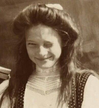 Grand Duchess Tatiana Nikolaevna Romanova of Russia.                                                                                                                                                                                 More