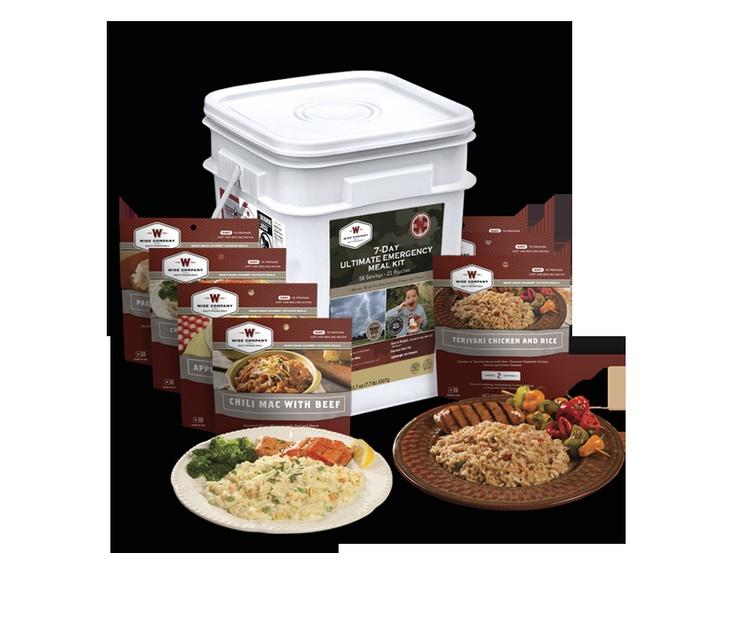 Wise 7day ultimate emergency food kit emergency food