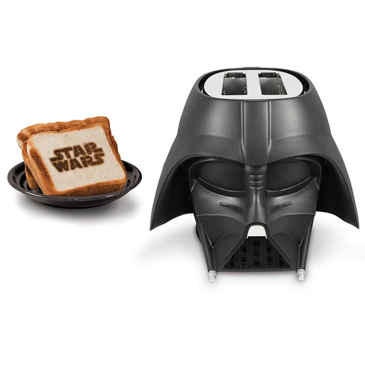 The 'Star Wars' Toaster in the Shape of Darth Vader's Iconic Helmet Is Now Available to Purchase