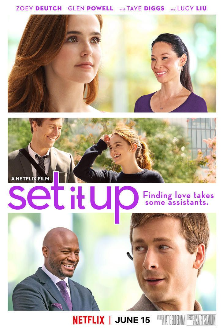 I Watched A Rom Com On Netflix Called Set It Up To See If It S As Good As People Are Saying Up Full Movie Free Movies Online Streaming Movies