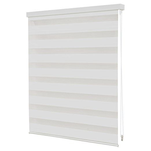 Intensions 180 x 160 Day and Night Blind, White