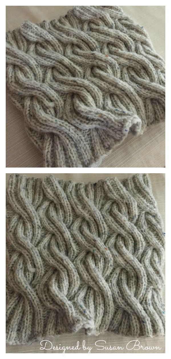 Chunky Cable Cowl Free Knitting Pattern | Cable knitting ...