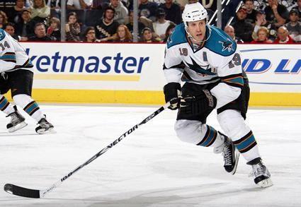 Sports Photography: Sharks Hockey Team