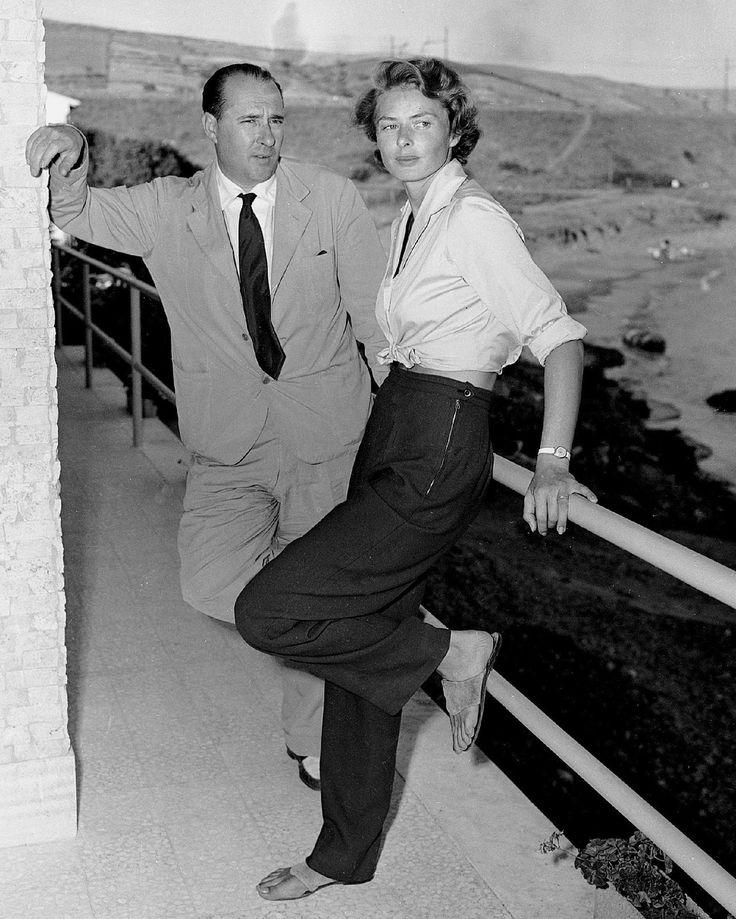 Ingrid Bergman and Roberto Rossellini Ingrid Bergman & Roberto Rossellini…