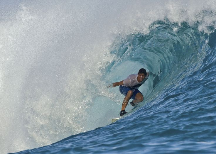 Surf school at Anantatra Veli, Maldives
