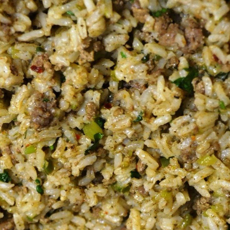 New Orleans Dirty Rice Recipe   Just A Pinch Recipes