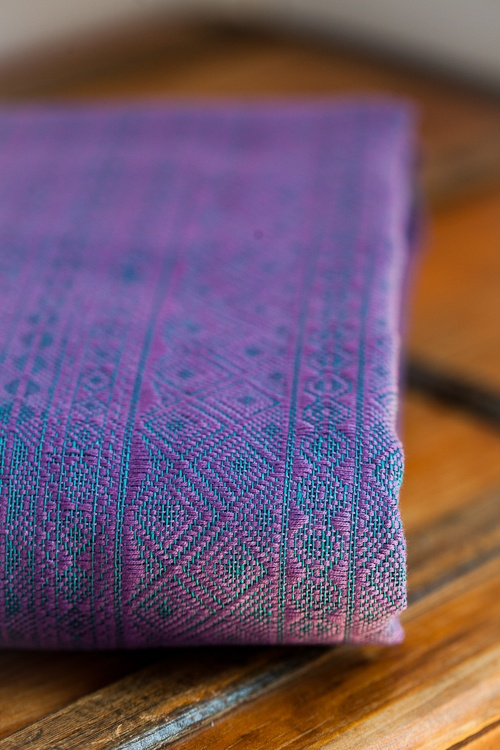 Didymos Holunder/Aqua Indio    I just need it. It shimmers. I have to have it.
