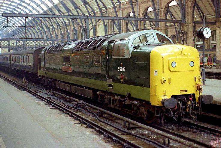 55002 'Kings Own Yorkshire Light Infantry' at Kings Cross in 1981. (Ian Bowskill)
