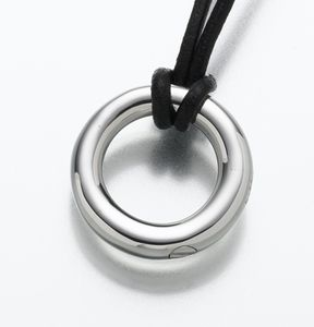 Cremation Ash Jewelry - Eternity Pendant