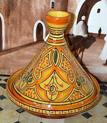 Moroccan-Cooking-Ceramic-Tagine-TAJINE-Chicken-TANGIA-Steam-COOK-WARE-Clay-Pot