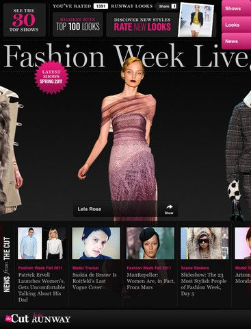 High #fashion & high #technologies #thecutoftherunway #application