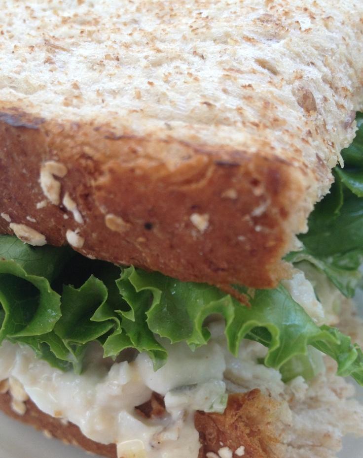 Chick FA la chicken salad sandwich