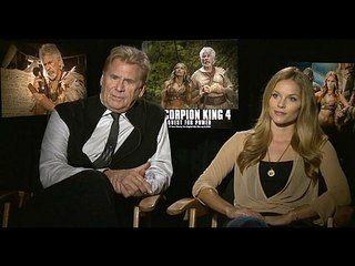 The Scorpion King 4: Quest for Power: Barry Bostwick & Ellen Hollman Junket Interview --  -- http://www.movieweb.com/movie/the-scorpion-king-4-quest-for-power/barry-bostwick-ellen-hollman-junket-interview