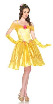 Adult Princess Belle Costume - Beauty And The Beast