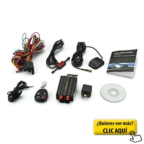 SODIAL(R) Localizador TK103B GSM / GPS SMS SOS... #alarma #coche