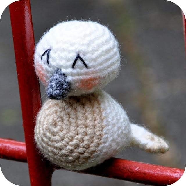 Grietjekarwietje: Patroon Fiep het vogeltje