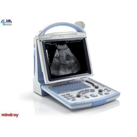 Sistema de ultrasonido en blanco y negro Mindray DP-10, combinando diseño elegante, fiabilidad diagnóstica y precio asequible.