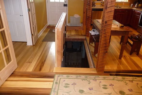 Trapdoor To Basement Home Improvements Pinterest
