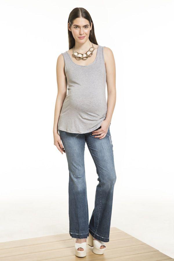 MUSCULOSA BACK + OXFORD MAX #VENGAparatodalavida #emabarazo #embarazada #stylethebump #mama #pregnancy #maternity #maternidad